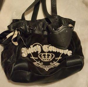 🔸️Juicy Couture 🔸️ Brown & Black velvet feel